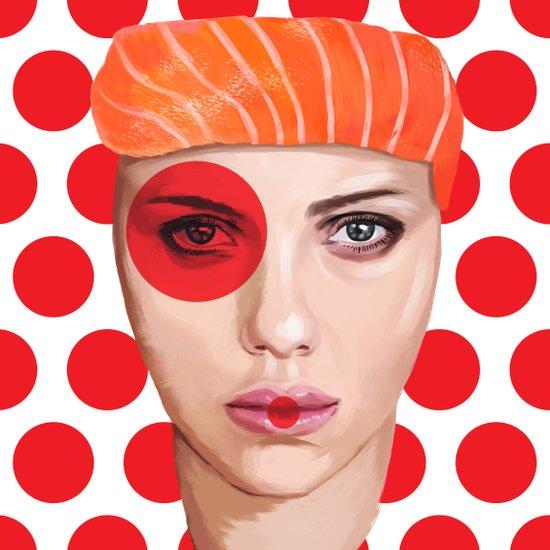 Scarlett Johansson Art Print