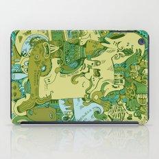 Green Town iPad Case