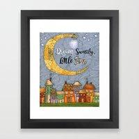 Dream Sweetly, Little Star Framed Art Print