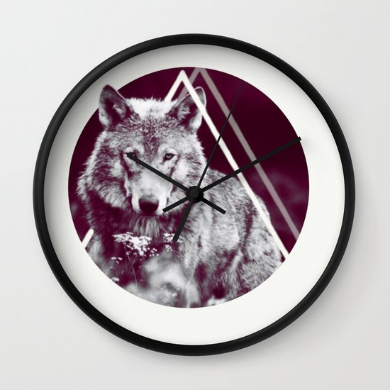 WOLF I Wall Clock