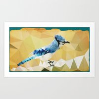 Arctic Bird! Art Print