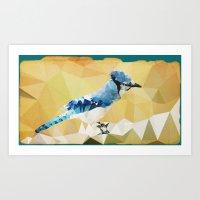 Arctic Bird! Art Print