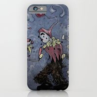iPhone & iPod Case featuring Night Clown by Mr Patch