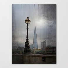 Dolphin Lampposts of London Canvas Print