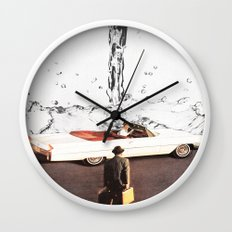 Drive It All Over Me Wall Clock