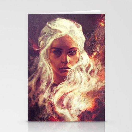 Fireheart Stationery Card