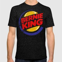 Bernie King Mens Fitted Tee Tri-Black SMALL