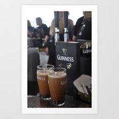 Guinness Beer  Art Print