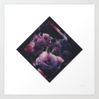 Floral One // Remix Art Print