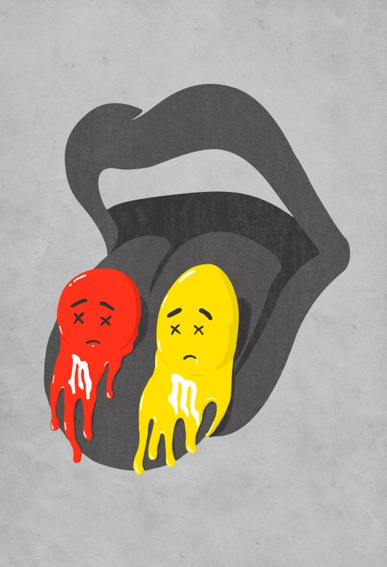 Melts in your mouth Art Print