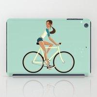 Fixie Girl iPad Case