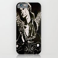 Black (Wings/Angel) iPhone 6 Slim Case