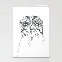 Grumpy Feathers Stationery Cards