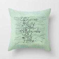 Breadcrumbs Throw Pillow