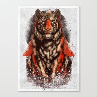 Tiger  Tiger  Tiger Canvas Print
