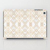 Golden Geo iPad Case