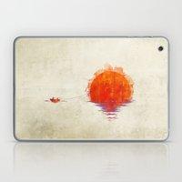 The Fisherman And His Bo… Laptop & iPad Skin