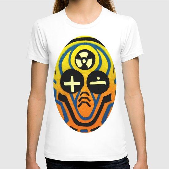 Atomic sound wave man T-shirt