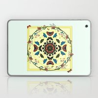 Butterfly Garden Abstract Collage Laptop & iPad Skin