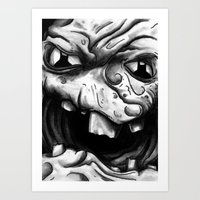 Rogues Gallery - Clayfac… Art Print