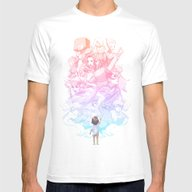 Reach Mens Fitted Tee White SMALL