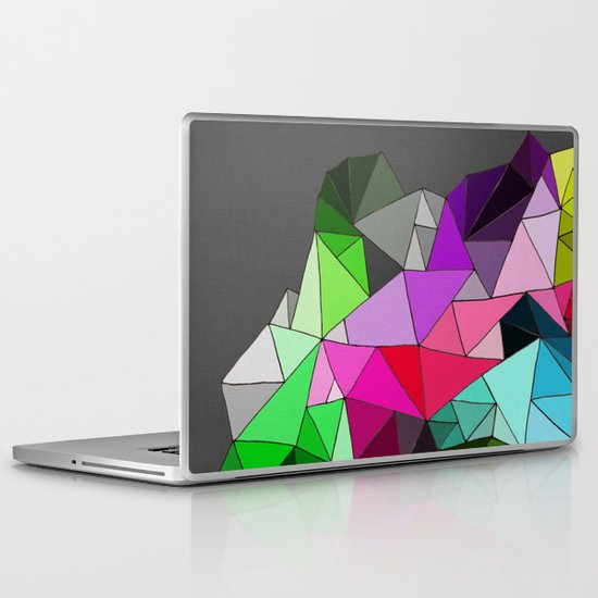 perfect colors in an imperfect configuration Laptop & iPad Skin
