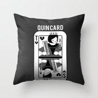 Tegan and Sara Quincard Throw Pillow