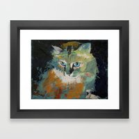 Himalayan Cat Framed Art Print