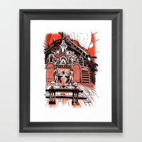 Sea of Red: Judgement Framed Art Print