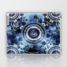 Navy Sea Mandala Laptop & iPad Skin