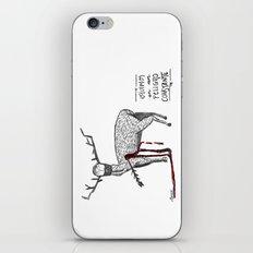 Vivimos en un peligro constante (We live in a constant danger) iPhone & iPod Skin