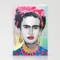 Frida Kahlo By Paola Gon… Stationery Cards