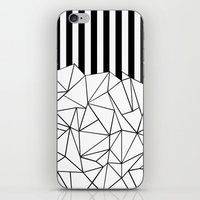 Abstract Outline Stripes… iPhone & iPod Skin