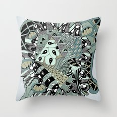 The heart of things II Throw Pillow