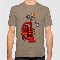 Happy to see my pocket trumpet Mens Fitted Tee Tri-Coffee SMALL