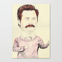 Ron Canvas Print