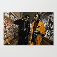 Wiz & Tempah Canvas Print