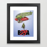 BobAkira Framed Art Print