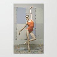 Contemporary Ballet Danc… Canvas Print
