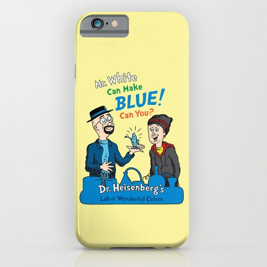 Mr. White Can Make Blue! iPhone & iPod Case