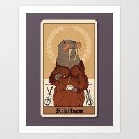 Gossip, Tea & Sympathy Art Print