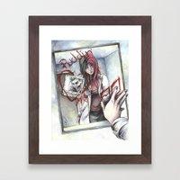 Dr. Harleen Quinzel Framed Art Print