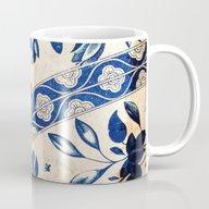 Blue Oriental Vintage Pa… Mug