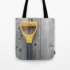 Yellow Handle Tote Bag