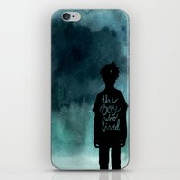 the boy iPhone & iPod Skin