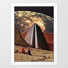 Exiled by Zabu Stewart Art Print