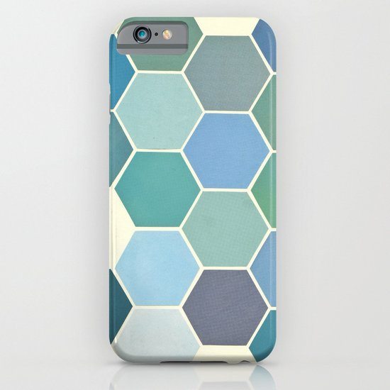 Shades of Blue iPhone & iPod Case