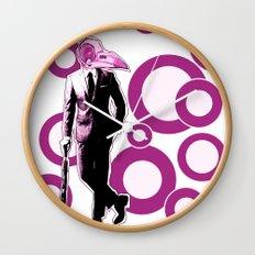 Gentlemen, We got a dead one here.. pink version Wall Clock
