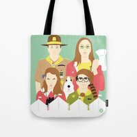 Time For Love And Adventure (Faces & Movies) Tote Bag