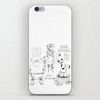 The Fat, The Cruel & The… iPhone & iPod Skin